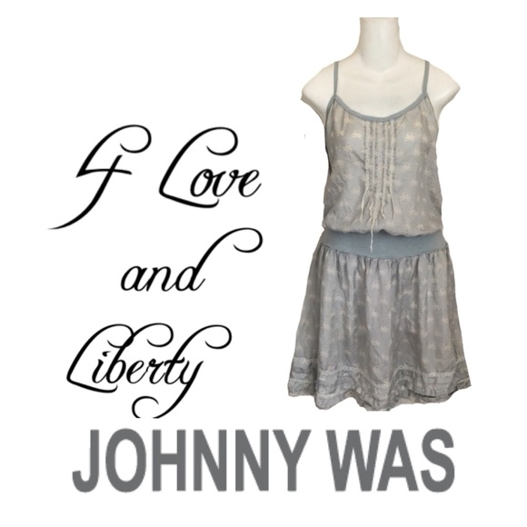 Johnny Was Dresses & Skirts - Johnny Was 4 Love & Liberty Silk Camisole Dress